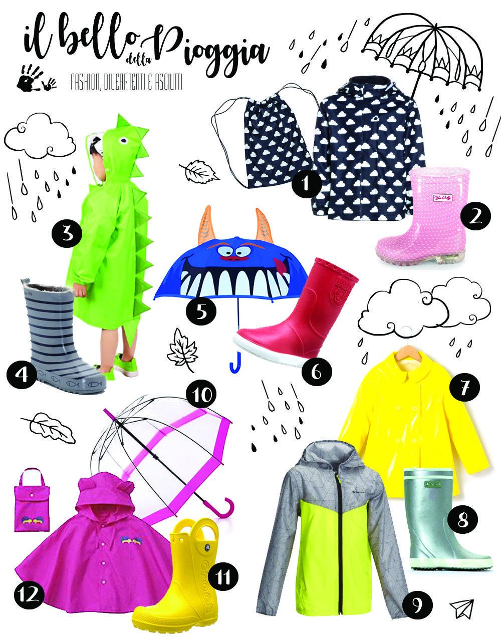 Acquista i più venduti lucentezza adorabile stile attraente Il bello della pioggia