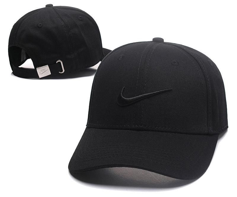 0e4005553aaa6 Men s   Women s Nike Heritage 86 Swoosh Curved Dad Hat - Black ...
