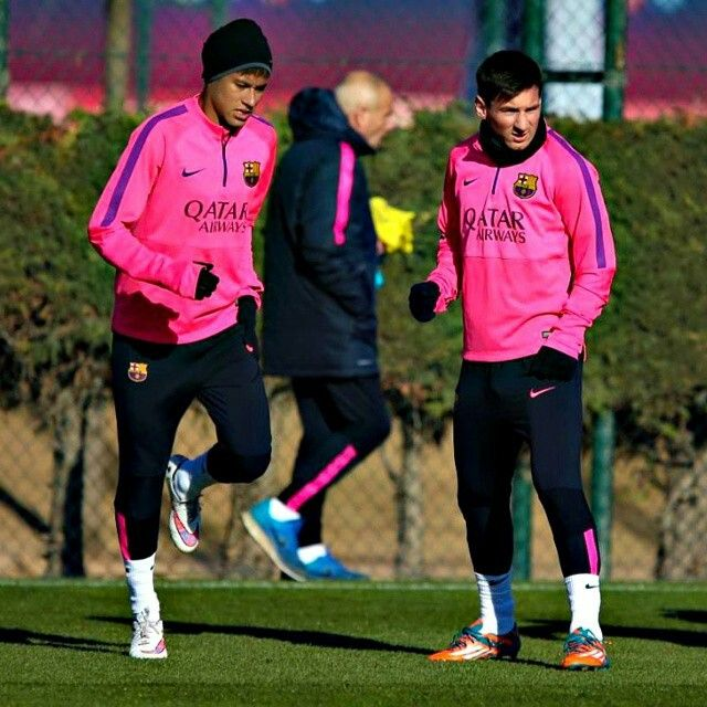 03.02.15 Neymar e Messi
