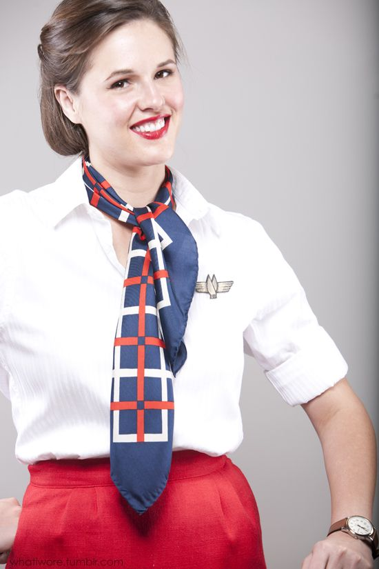 Homemade Halloween: Flight Attendant | Homemade halloween, Easy ...