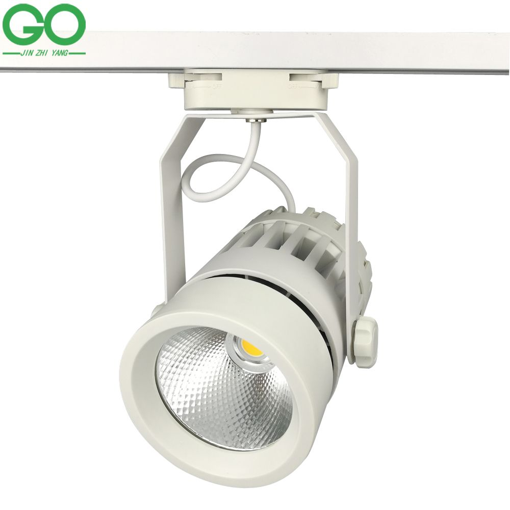 Led Track Lights 30w Cob 130 140lm W Moving Head Modern Wall Rail Light Equal 300w Halogen Lamps For Clothes Sho Led Track Lighting Track Lighting Halogen Lamp