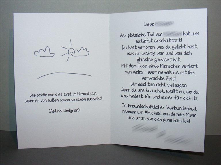Bastelecke: Trauerkarte #12 (Engelsflügel) - ⚓ Kikis