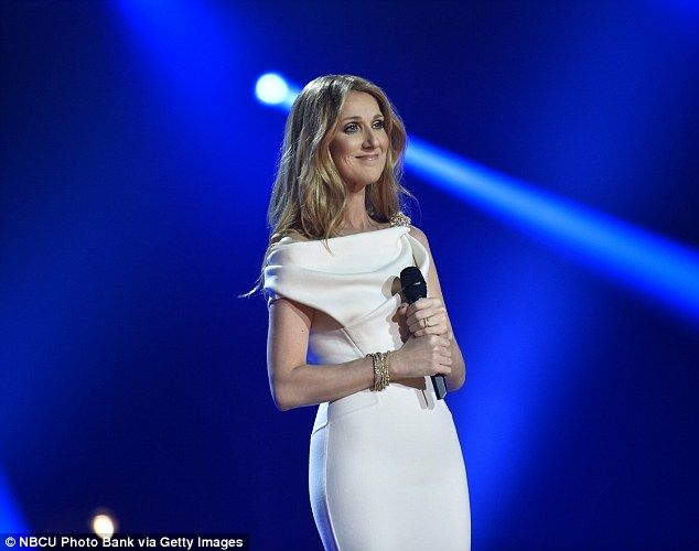 Celine Dion Wows In White On Michael Buble S Festive Special Celine Dion Celine Michael Buble