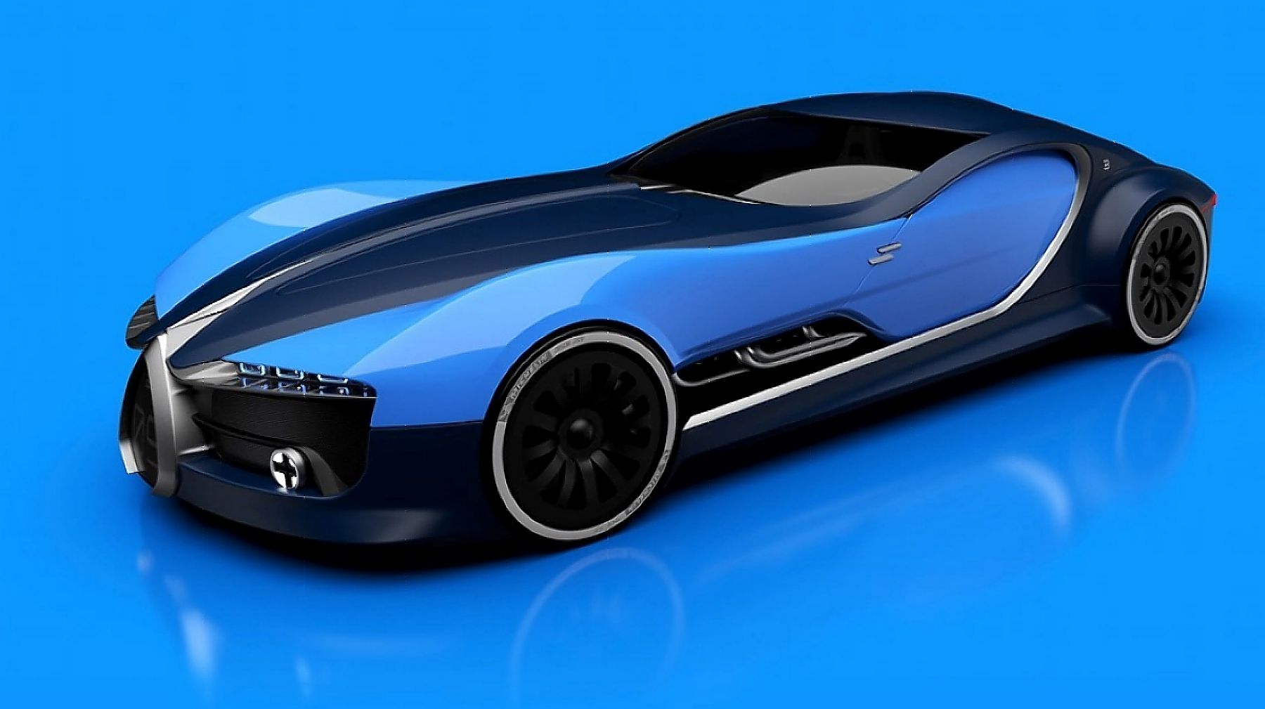 newest bugatti concept - HD 1800×1009