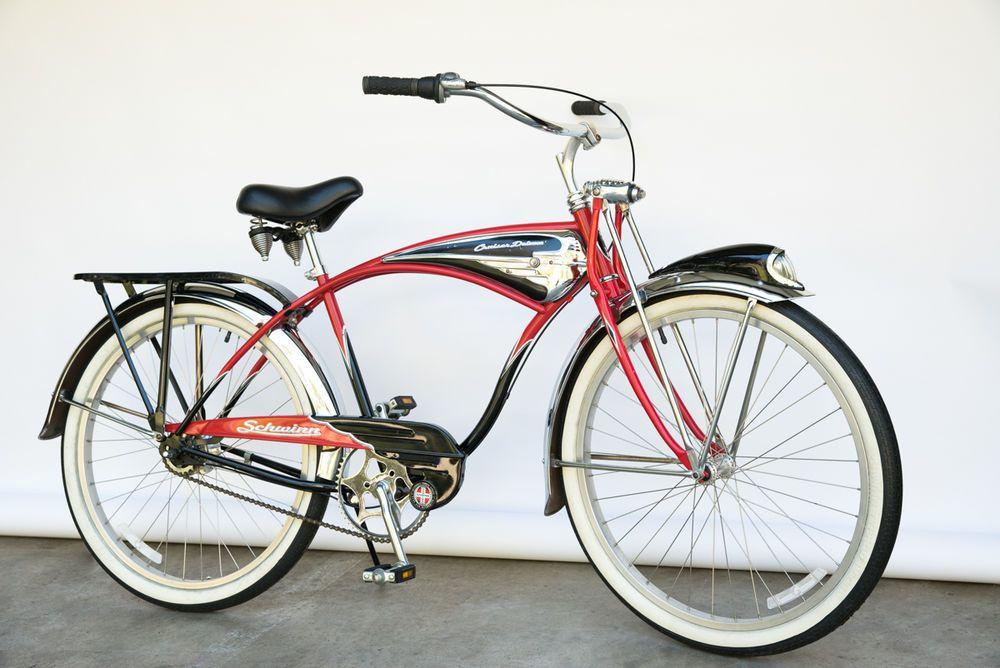 1990s Schwinn Deluxe 7 Cruiser Vintage B6 Phantom Style 50s Bike Nice Schwinn Schwinn Bike Bike