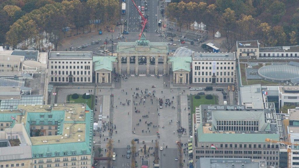 Einzigartige Luftausnahmen Aus Stasi Geheimarchiven Luftaufnahme Leipziger Platz Ostberlin