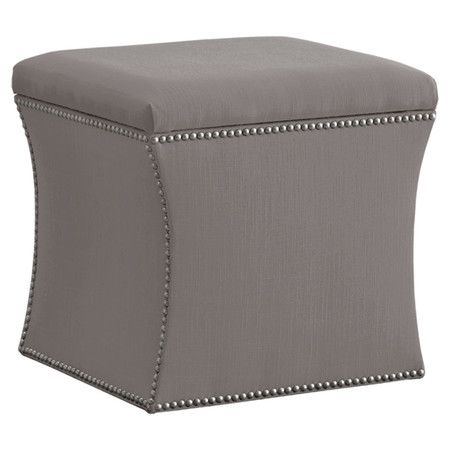Enjoyable Found It At Wayfair Elgin Nail Button Storage Ottoman In Onthecornerstone Fun Painted Chair Ideas Images Onthecornerstoneorg