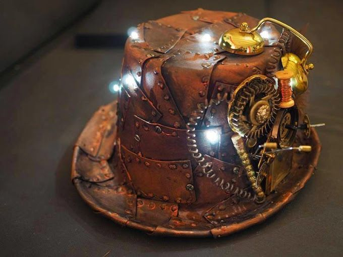 CHAPEAU STEAMPUNK (avec images) | Mode steampunk, Armure steampunk ...