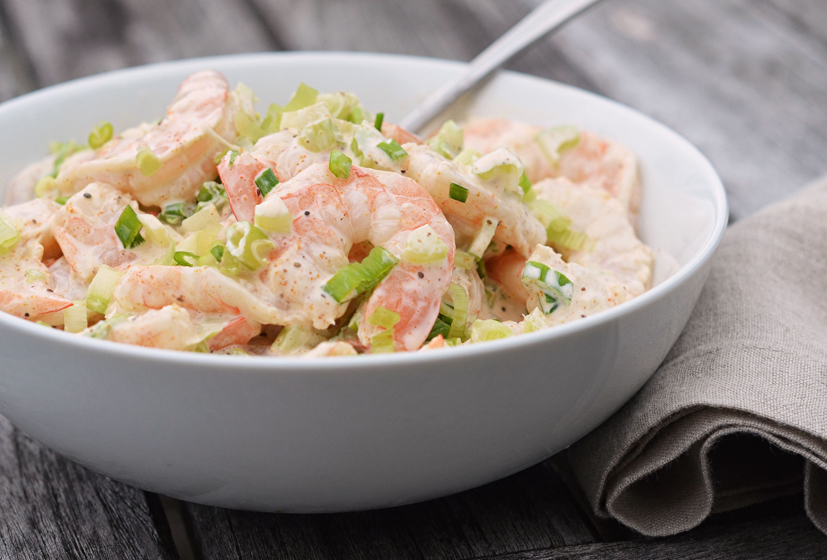 Creamy Creamy Old Bay Shrimp Salad Once Upon A Chef Recipe Sea Food Salad Recipes Shrimp Salad Recipes