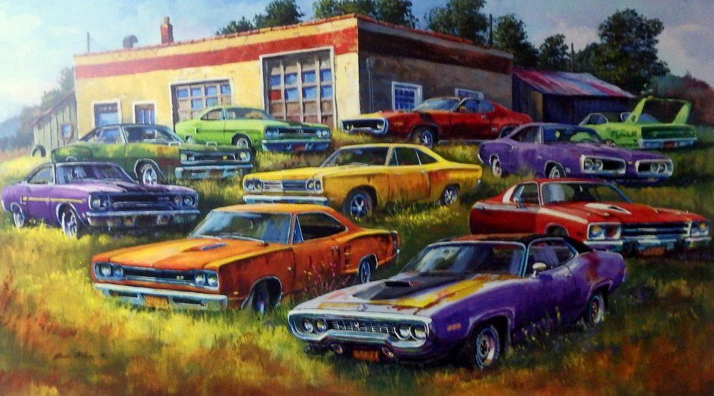 This was the time of true muscle cars that we will probably never ...