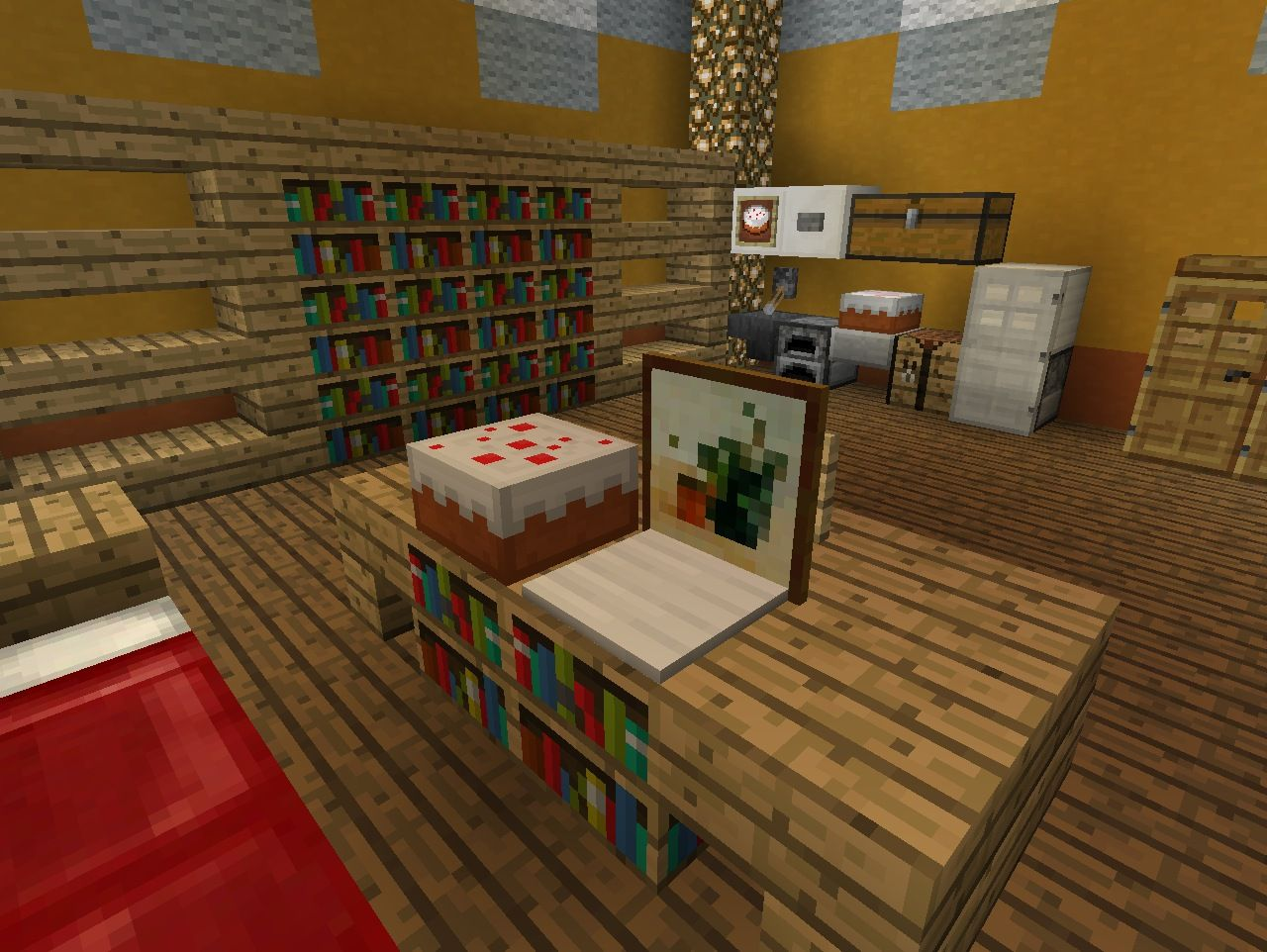 Minecraft Furniture Bedroom minecraft table | minecraft building | pinterest | minecraft