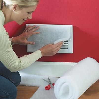 Allertech Ventguard Vent Filtration Kit 20 Vent Filters Per Roll Wall Vents Furnace Vent Air Vent Covers