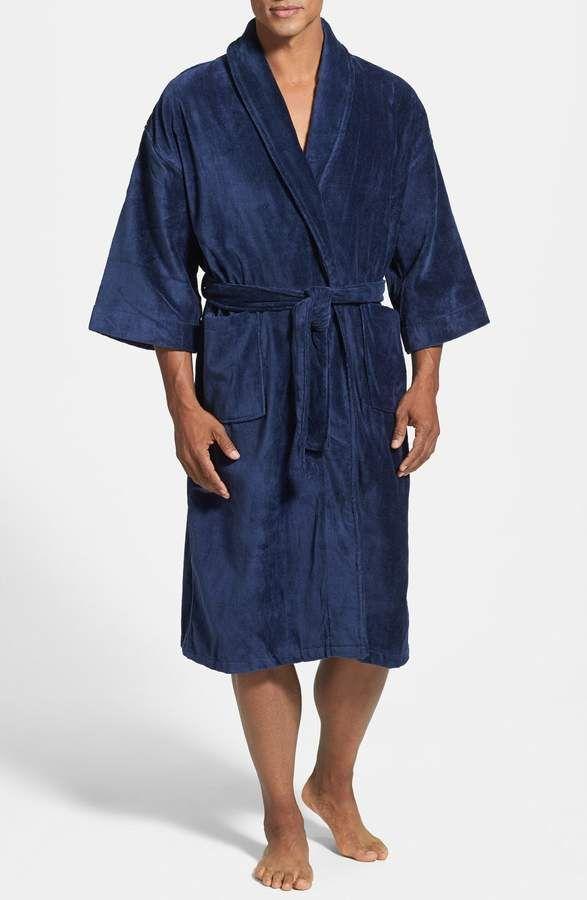 Majestic International Terry Velour Robe  32c76e9f7