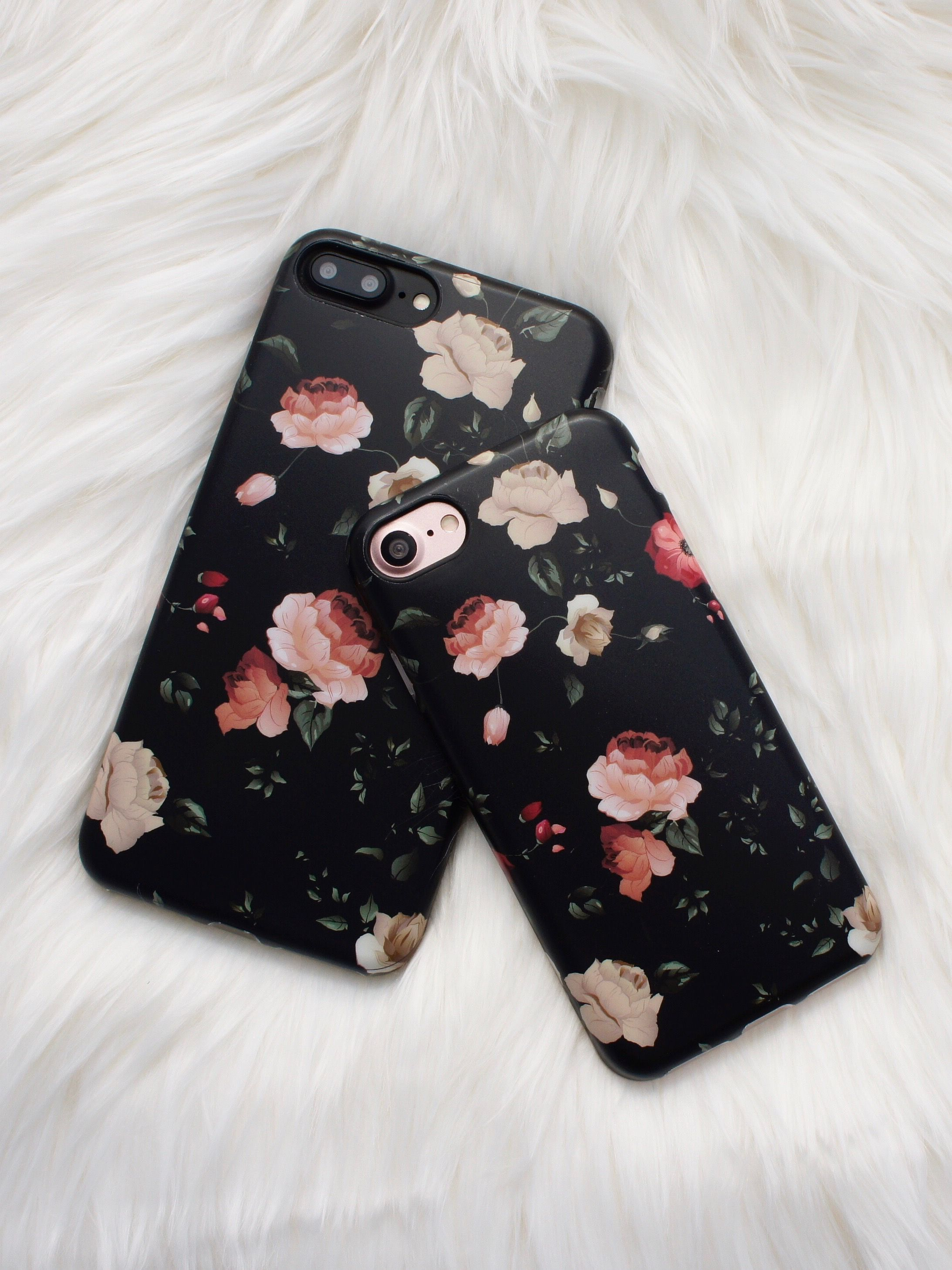 Floral Case In Dark Rose From Elemental Cases Available For