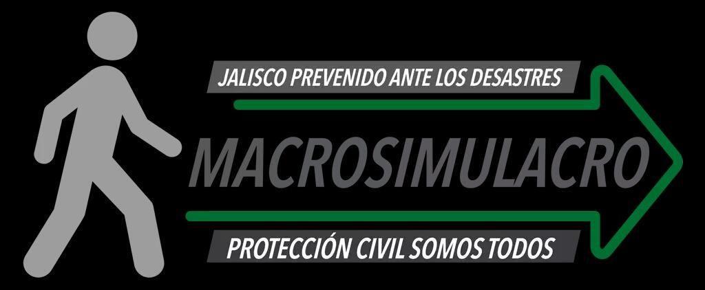 ¿Y tu vas a participar en el #MacrosimulacroJalisco ? Informes en el 36753060 ext. 231 PARTICIPA! @GobiernoJalisco