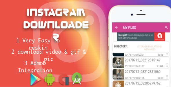awesome Instagram downloader video and photo (Utilities)