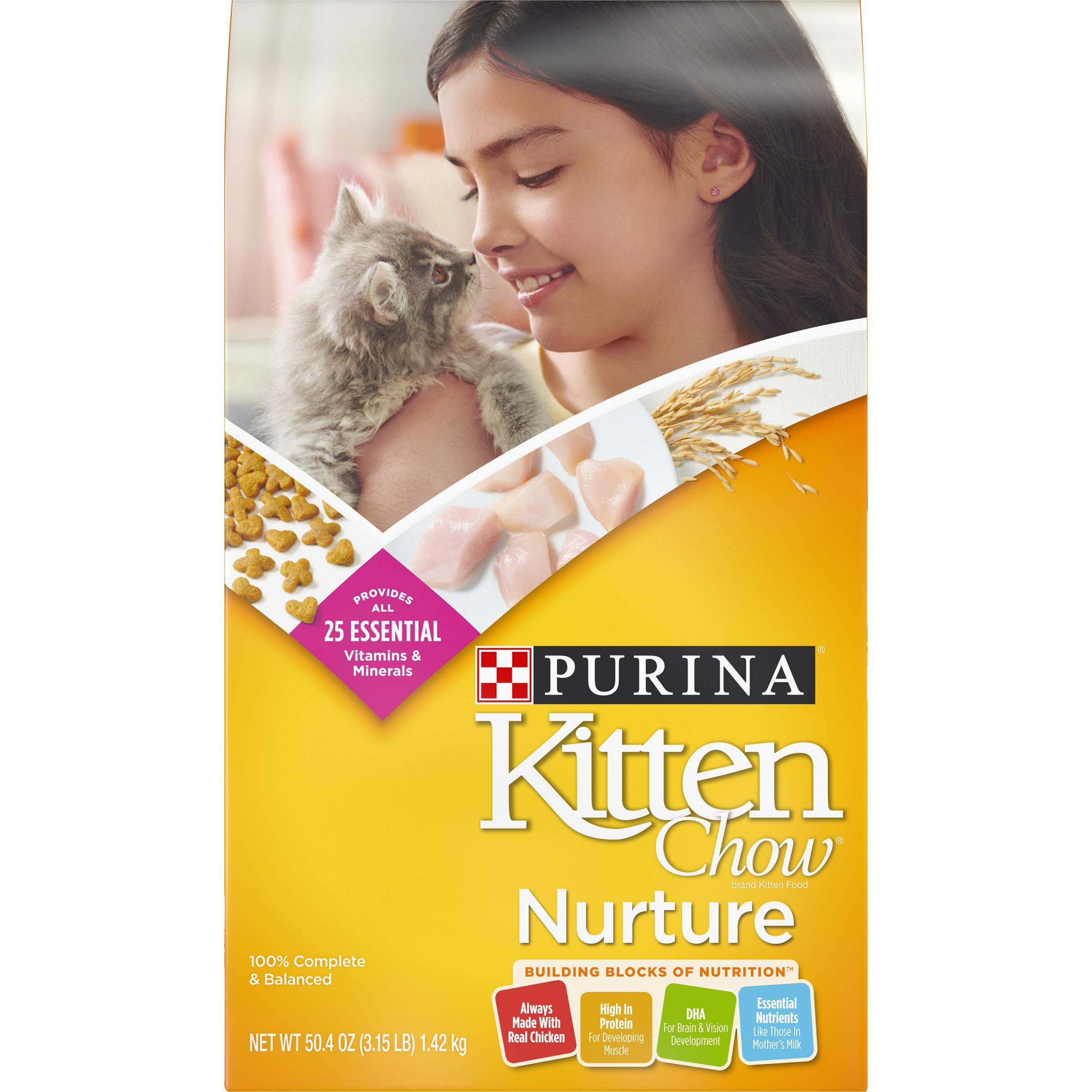 Purina Kitten Chow Nurture Kitten Dry Cat Food In 2020 Dry Cat Food Purina Kitten Food