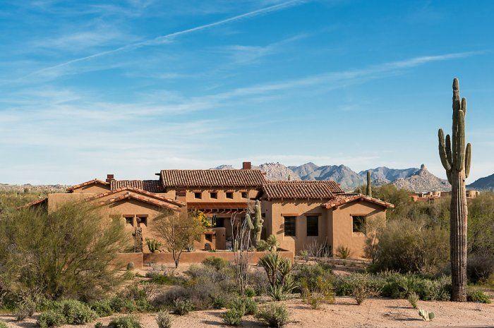 Family Desert House In Arizona Santa Fesouthwest Style