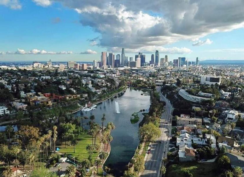 Prepare For The Ultimate Gaslighting In 2020 Aerial View Los Angeles City