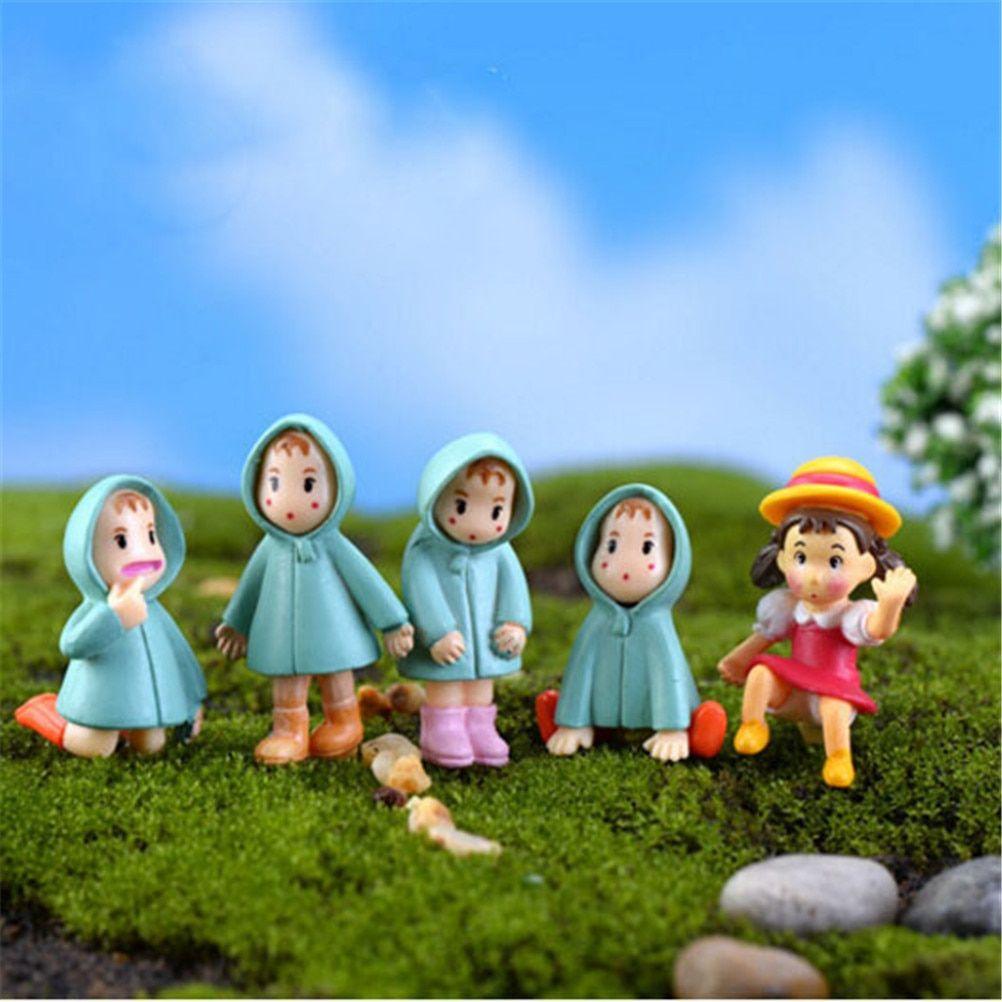 Crafts Fairy Garden Decoration Penguins Figurine Resin Animal Gnomes Miniature