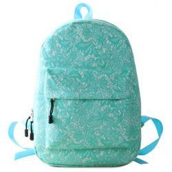 Sweet Canvas and Lace Design Women's Satchel