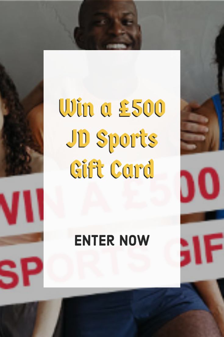 Win a £500 JD Sports Gift Card in 2020 Gift card, Sports