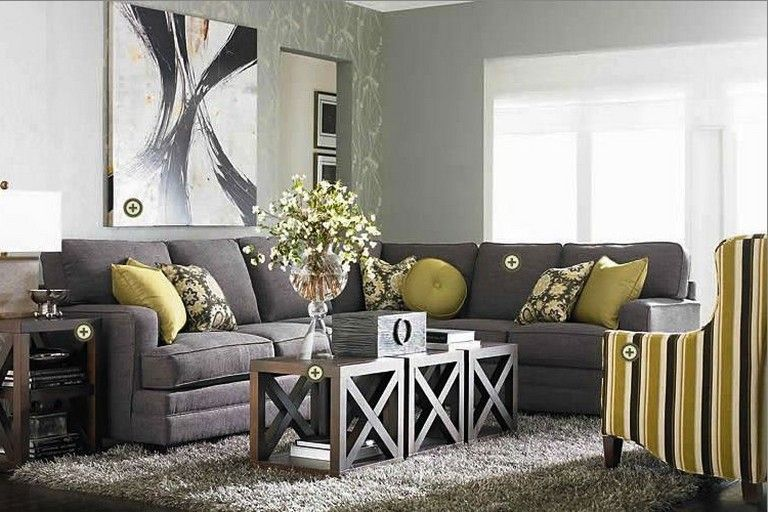 40 Adorable Grey Green Living Rooms Design Ideas With Images