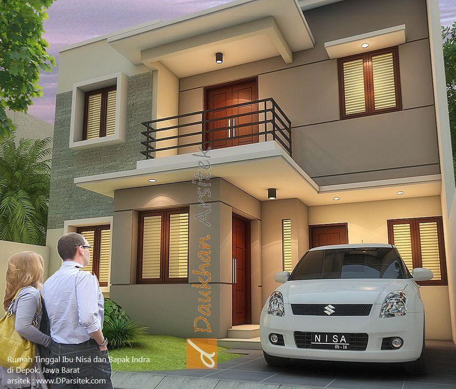 Sketsa #Exterior 3D Fasad Depan. Desain Rumah di Tebet Jakarta. #Arsitek dan & Sketsa #Exterior 3D Fasad Depan. Desain Rumah di Tebet Jakarta ...