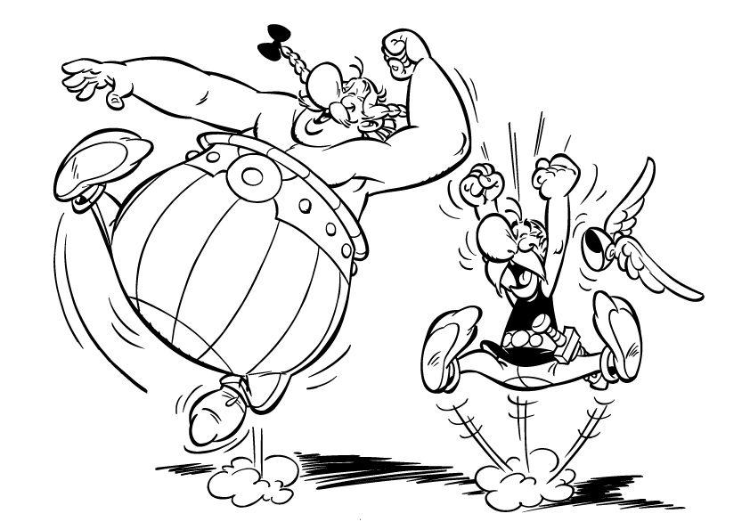 Astérix et Obélix | Obelix, Coloriage dessin animé, Asterix et obelix
