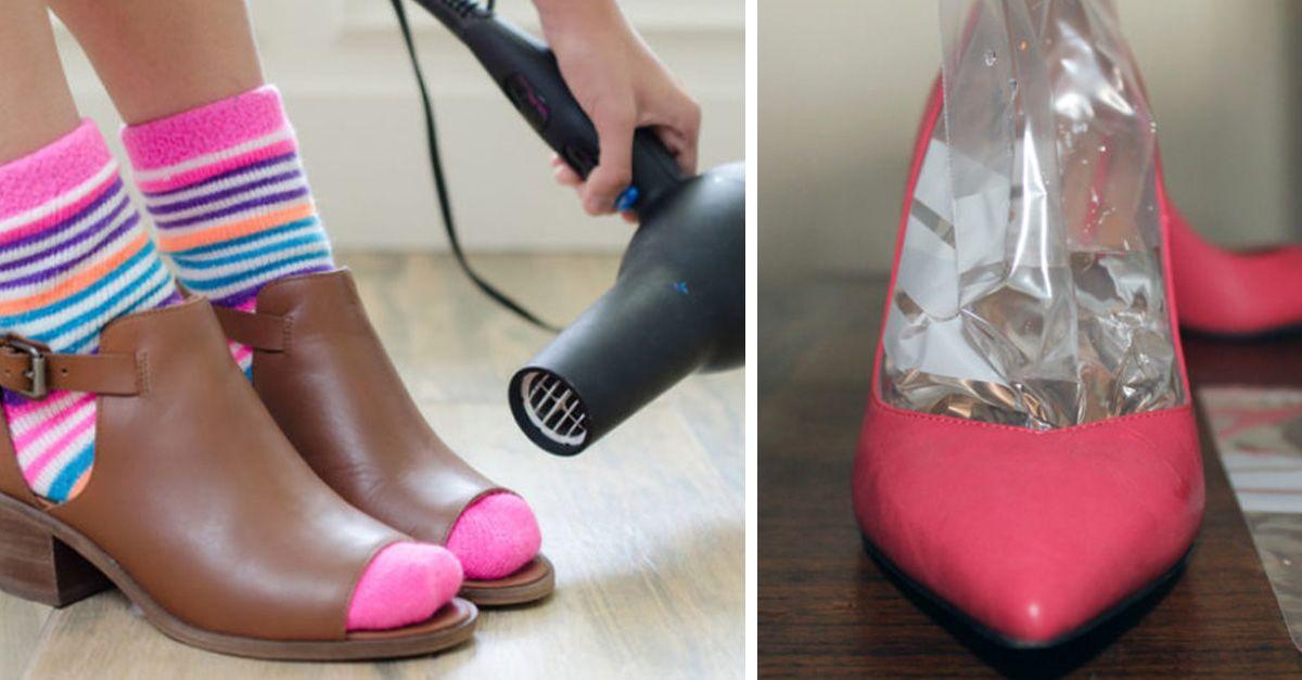 40 Tips Que Te Servirán Para Organizar Tu Habitación De La Mejor Manera Cómo Agrandar Zapatos Zapatos Zapatos De Piel