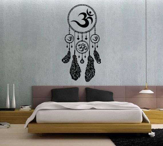 Dream Catchers Symbolism Dream Catcher Dreamcatcher Feathers Hindu Om Symbol by BestDecals 32