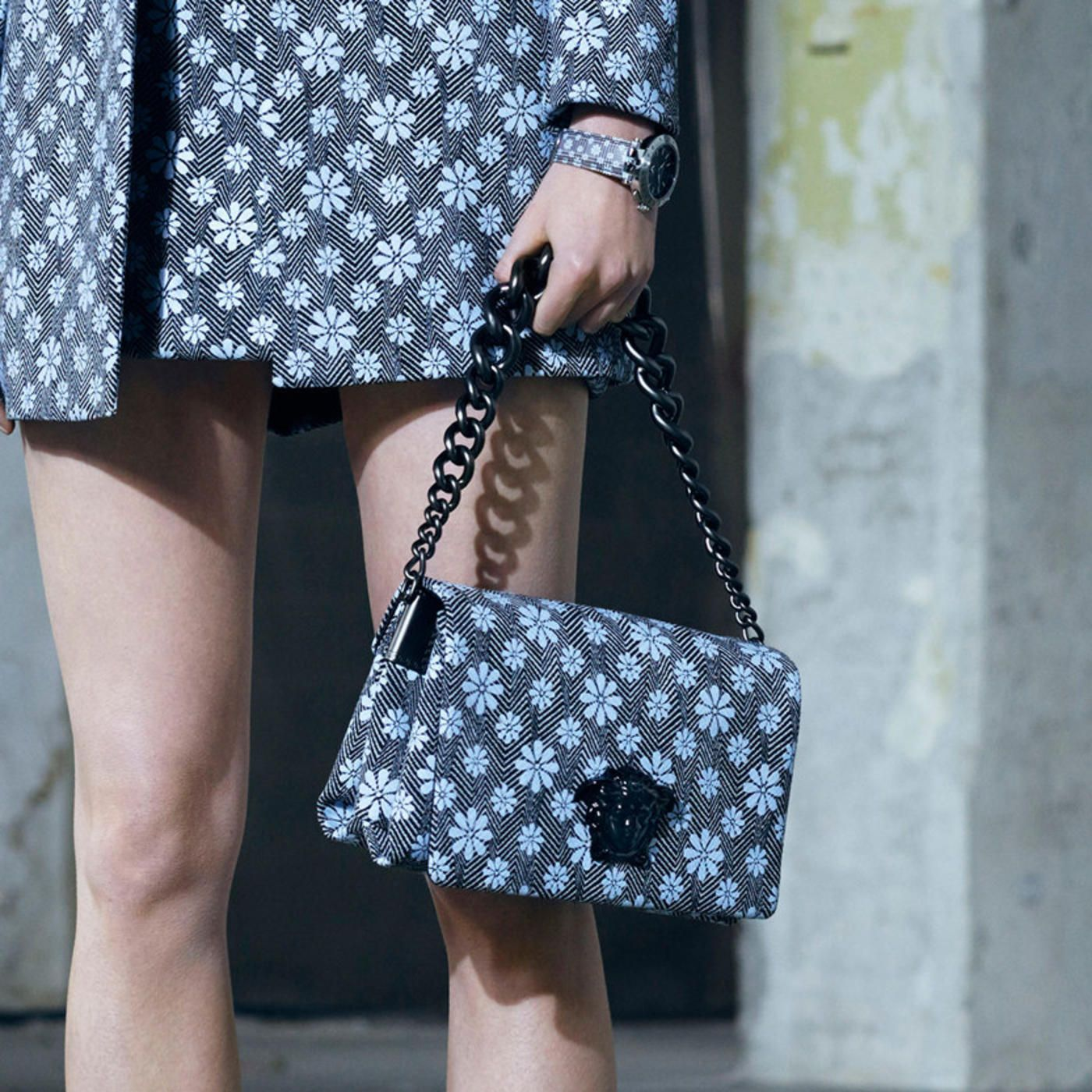 A bag from the Versace pre-fall 2016 collection. Photo: Versace.