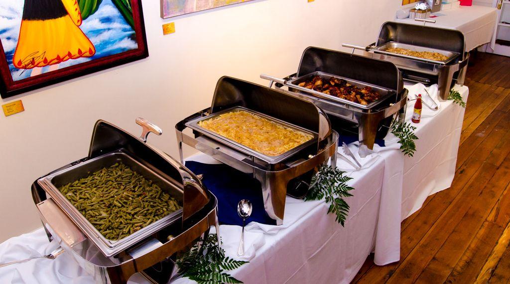 Raleigh Wedding Reception Food