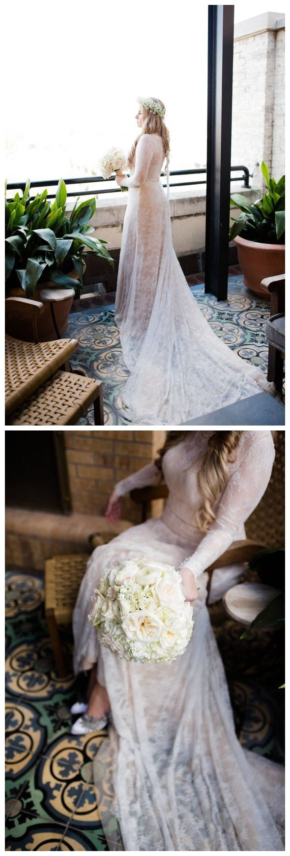 Cheap country lace wedding dresses  Plus Size Sheath Lace Wedding Dresses Long Sleeve Modest Bridal