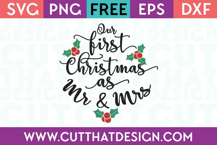 Free SVG Files First christmas, Christmas svg