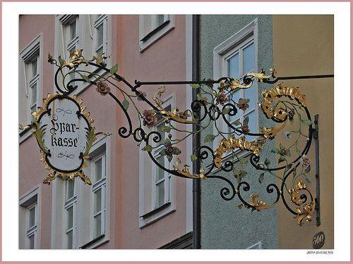Germany Sparkasse Bank Panneau