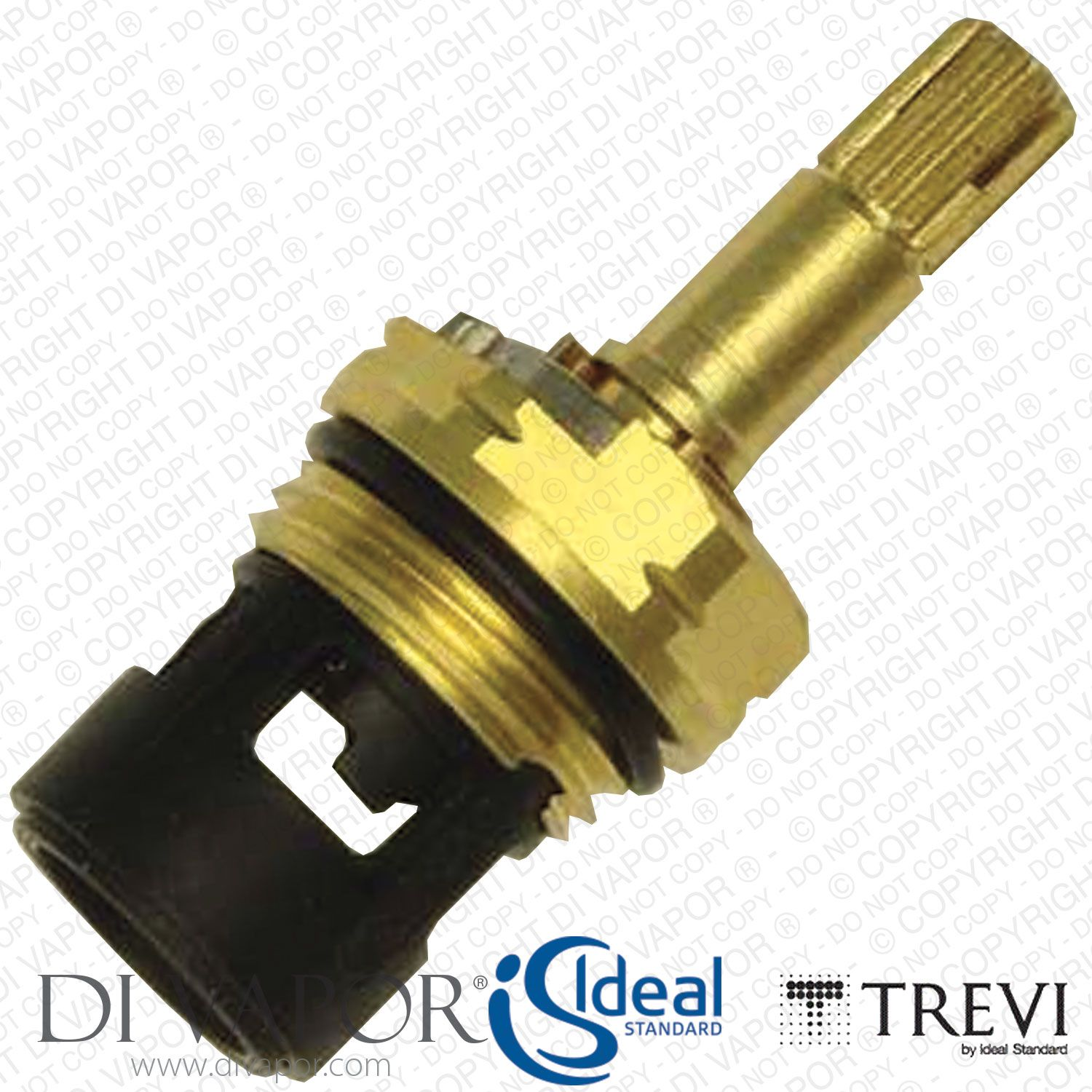 A961233nu Ideal Standard Trevi Alto Ecotherm 1 2 Flow Control Ceramic Disc Cartridge Trevi Cartridges Ceramics