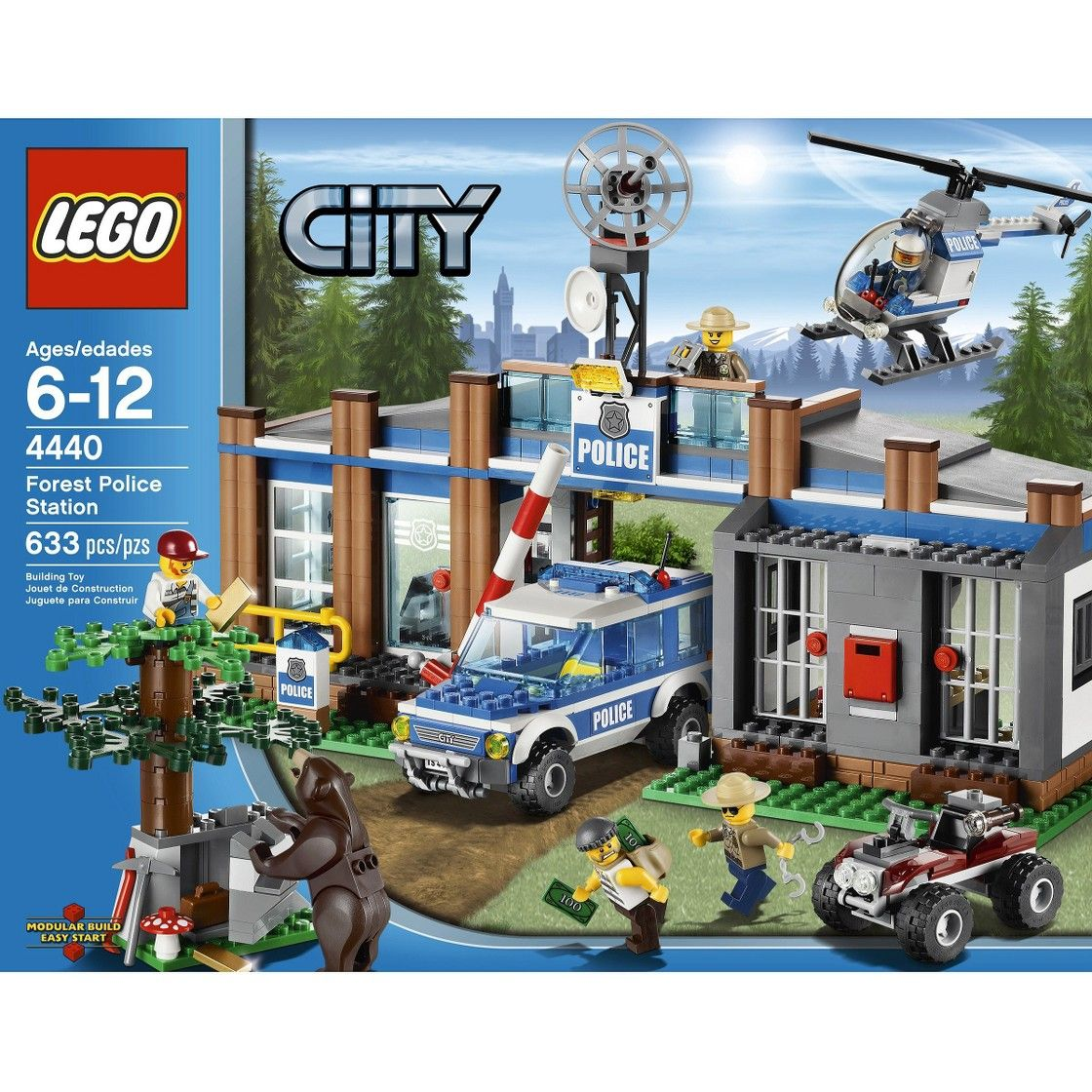 Lego City Forest Police Station 4440 Cool Pinterest Lego