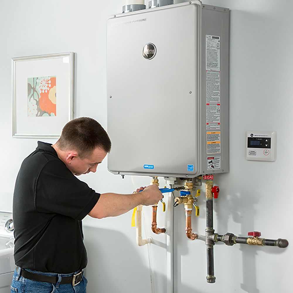 Water Heaters Installation Tankless Water Heater Gas Water