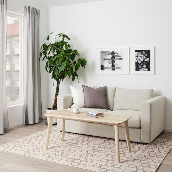 RINDSHOLM Rug, flatwoven, beige - IKEA | Flatwoven, Ikea ...