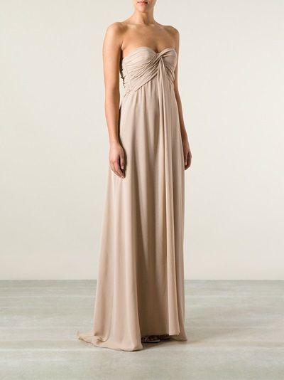MSGM - Vestido nude 9