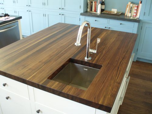 Traditional Edge Grain Butcher Blocks And Countertops By Brooks Custom Wood Countertops Kitchen Island Tops Walnut Countertop