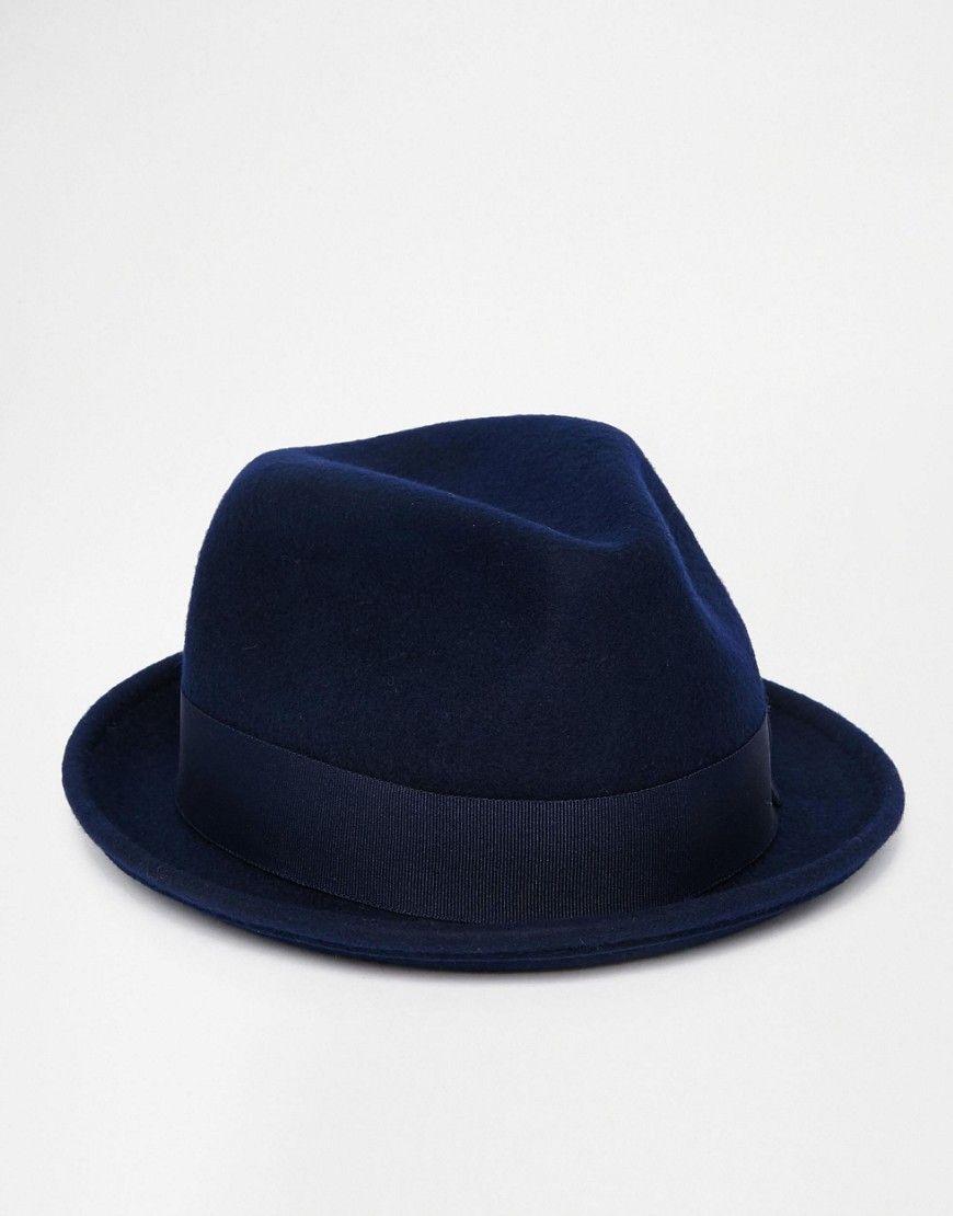 a6b1283a1311af Goorin - Rude Boy - Panama en laine - Bleu marine | Les chapeaux de ...