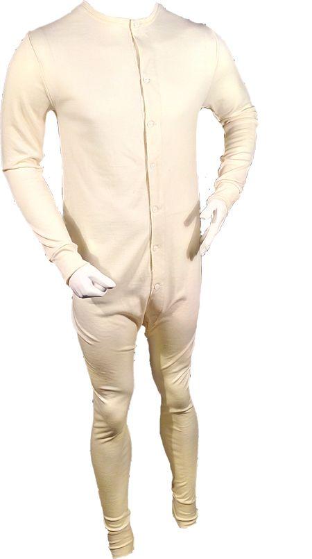 Wool Union Suit Combination Merino Men's Long Underwear New In Package