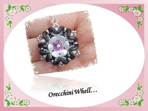 ❀ DIY Tutorial Orecchini ℳaddy ❀ Crescent Miniduo ❀ - YouTube