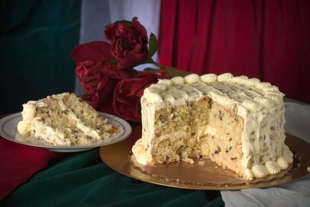 traditional southern cakes Ambrosia Bakery Italian Cream Cake