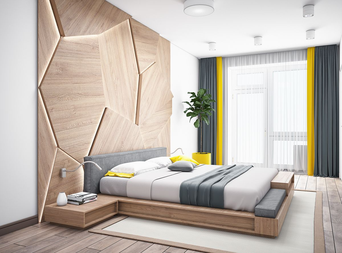 Bedroom For A Young Couple On Behance Indian Bedroom Design Bedroom Design Styles Bedroom Designs For Couples