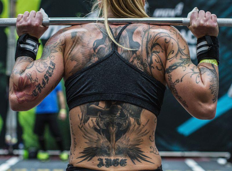 Tattooed Crossfit Girls Crossfit Girls Fit Girl Motivation Workout Motivation Women