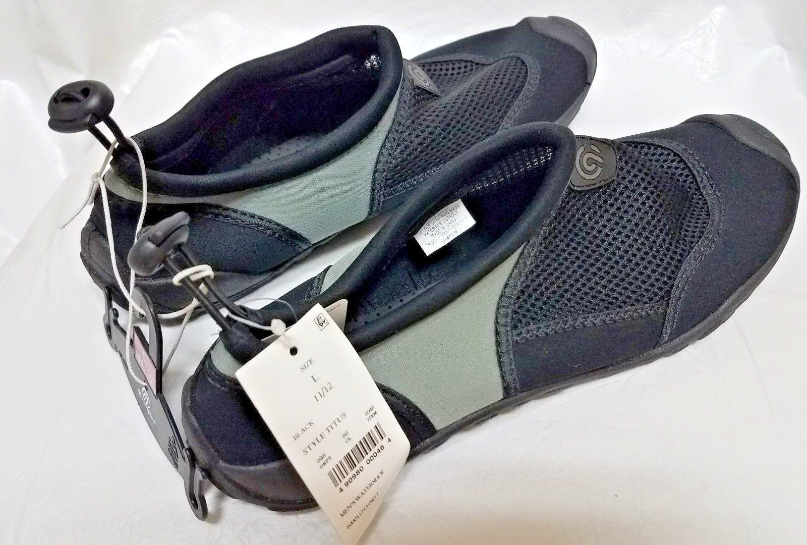 6159fd28c4f CHAMPION Men s C9 Titus Water Shoe Black Gray NWT NEW Size 11 12 in ...