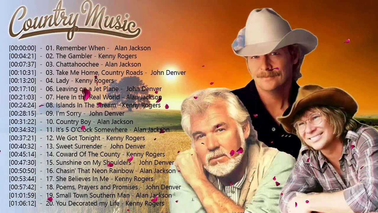 The Best Of Country Songs Of All Time Top 100 Greatest Old